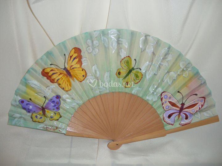 Abanicos de colores for Abanico de colores
