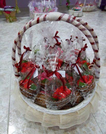 Presentaciones cesta cerezas