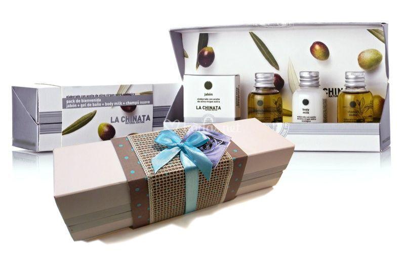Set de cosmética aceite oliva de Detalles con alma