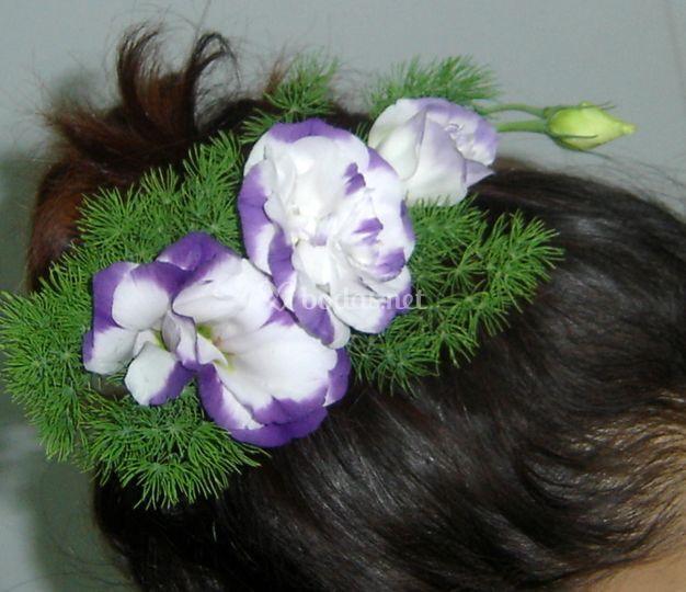 Flores para pelo de la Novia