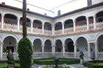 Un patio �nico de Monasterio de San Bartolom� de Lupiana