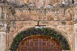 La entrada de Monasterio de San Bartolom� de Lupiana