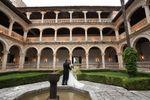 La pareja de Monasterio de San Bartolom� de Lupiana