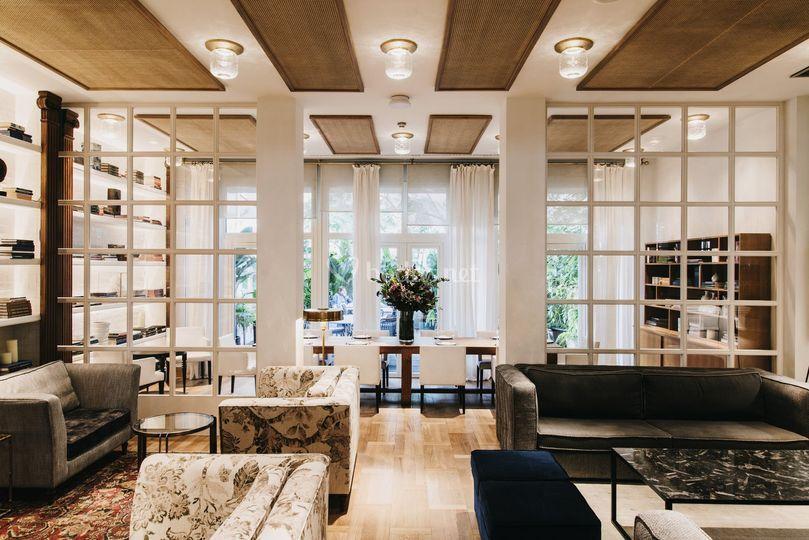 Biblioteca, espacio reservado