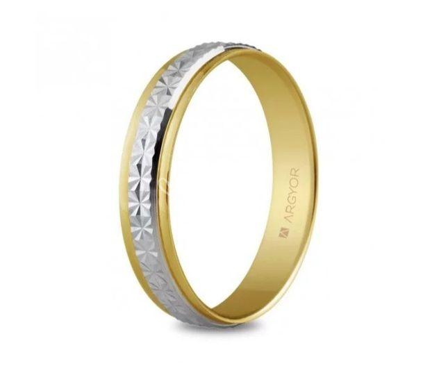 Alianza de boda Argyor dos oro