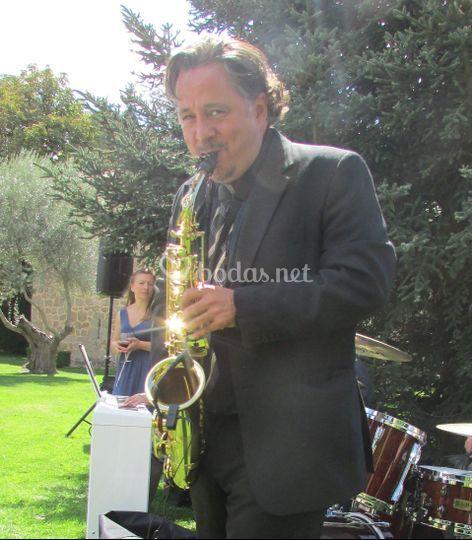 Saxofonista jazz