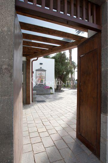 Entrada de la Plaza