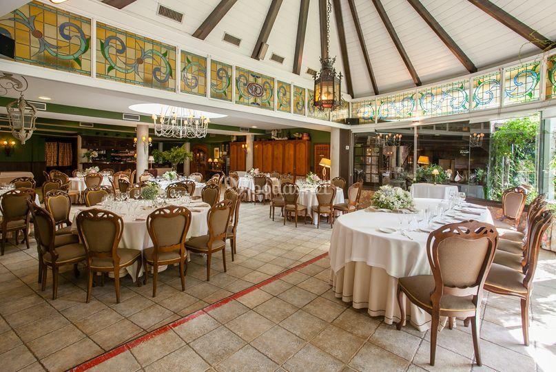Comedor para boda