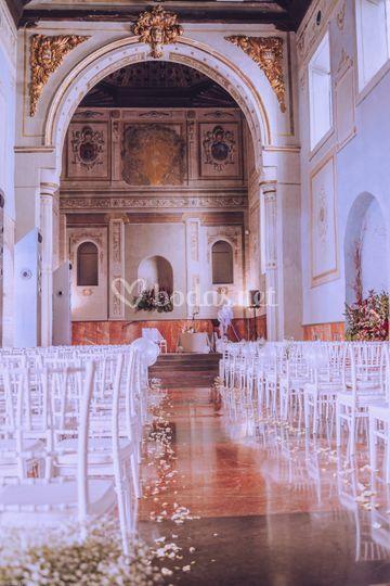 Ceremonia en capilla del S.XVI