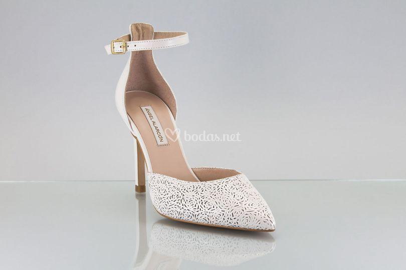 Zapato novia 2018 punta