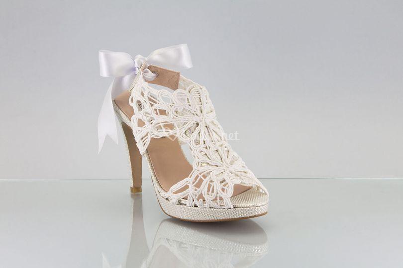 Zapato novia 2018 cordela