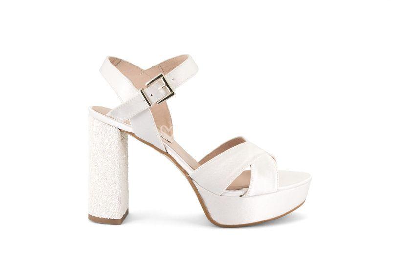 zapatos de novia 2018 ancho de Ángel alarcón | foto 23