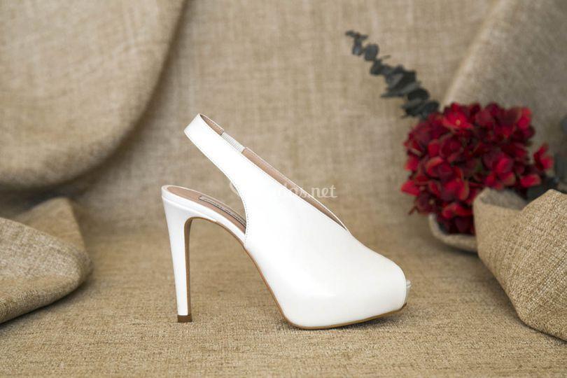 Zapatos altos de novia 2019