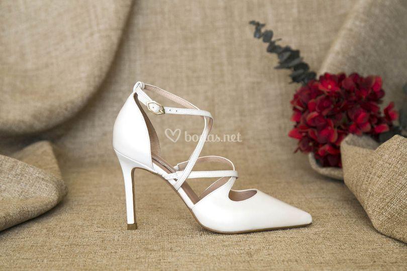 Zapatos elegant de novia 2019