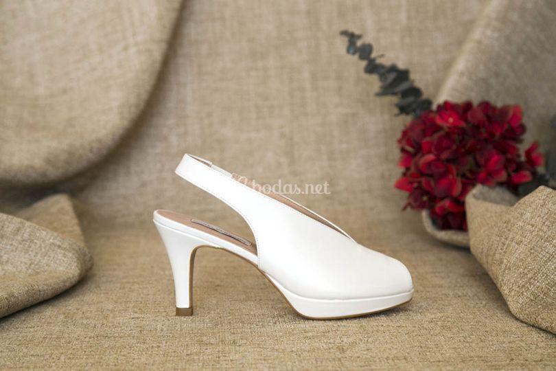 Zapatos cómodos de novia 2019