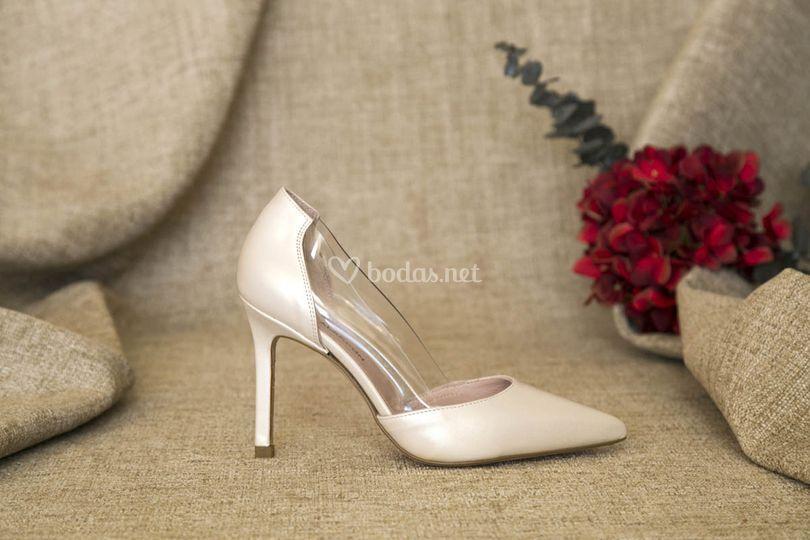 Stiletto vinilo de novia 2019