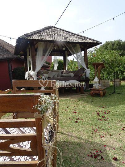 Ceremonia en Balinesa