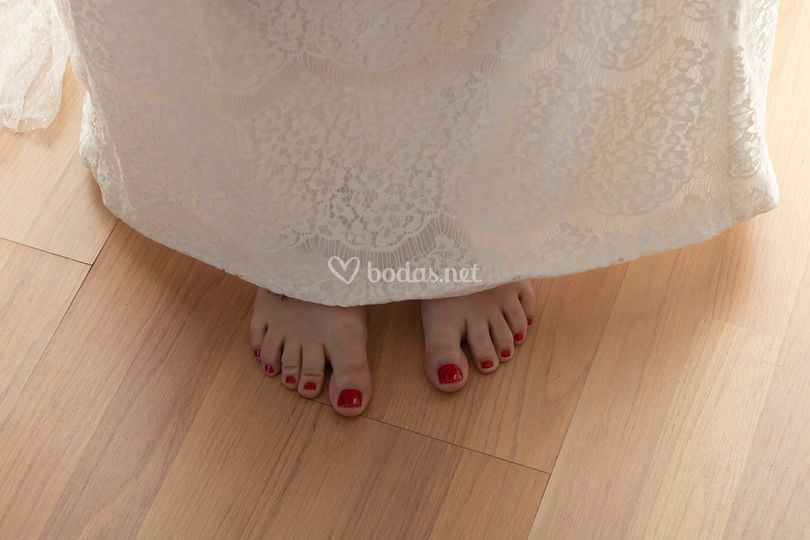 Los detalles de la novia