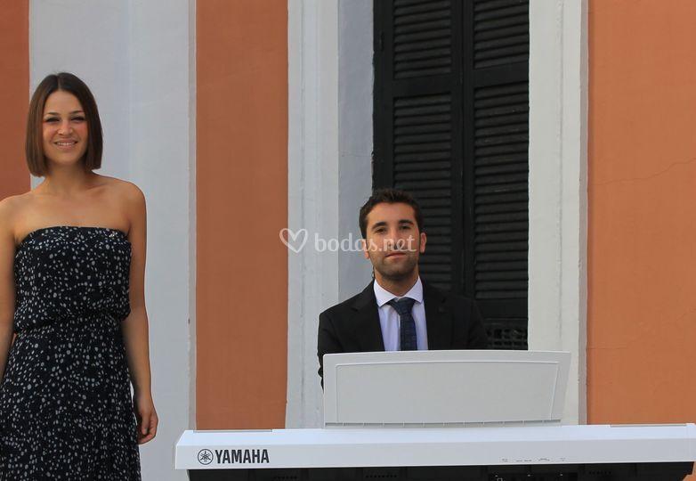 Paloma Crespo y Daniel Barbosa
