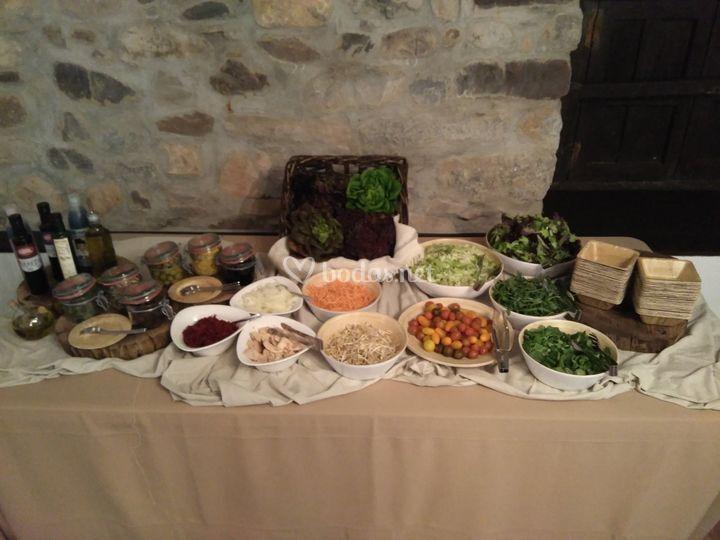 Buffet ensalada