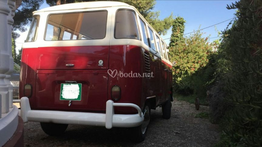 VW T1 trasera