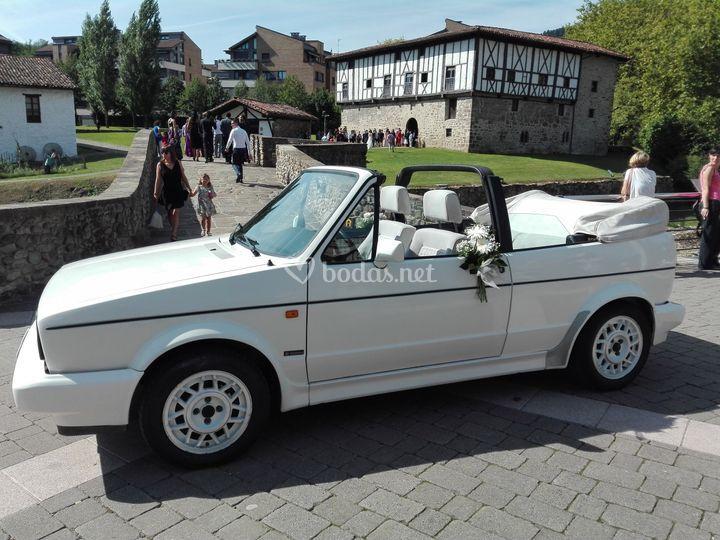 VW Golf Cabrio 1
