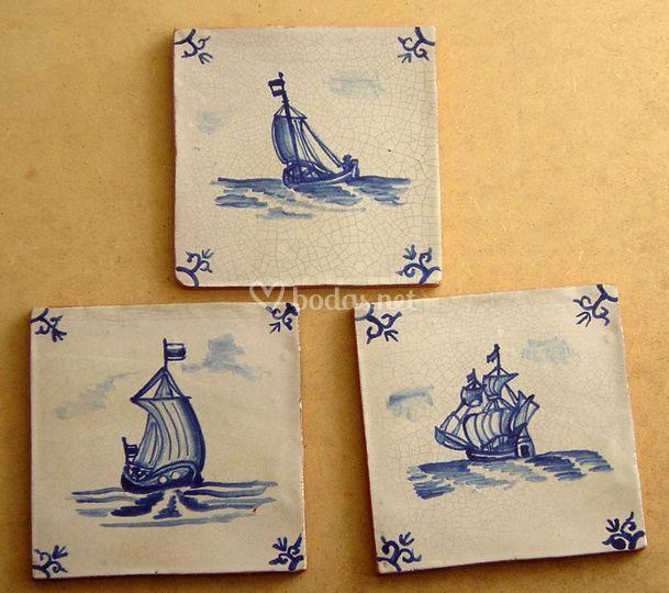 Azulejos 10 x 10 Barcos