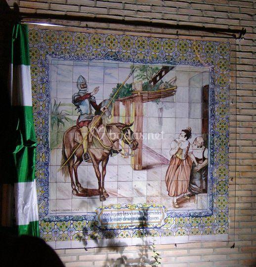 Mural Escenas Quijote