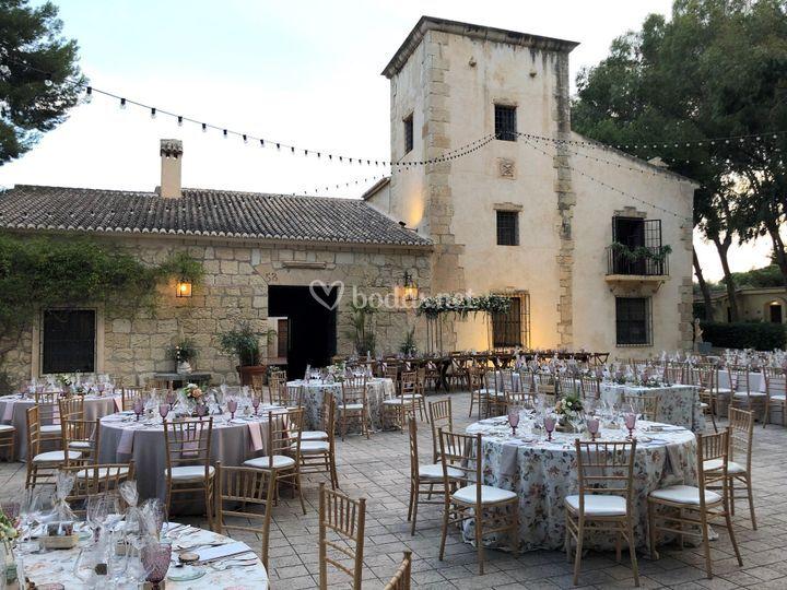 Banquete en Torre Bosh