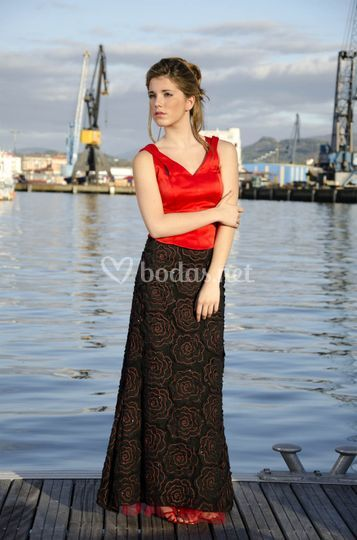 Vestido ro