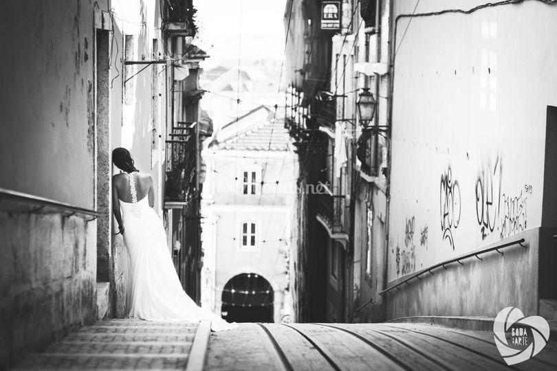 Postboda en Lisboa