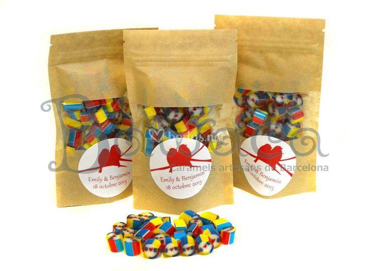 Caramelos en bolsitas
