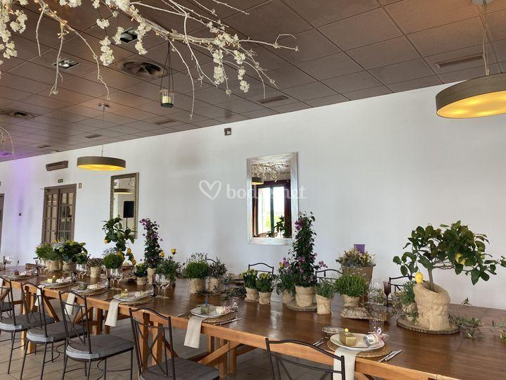 Mesa de boda