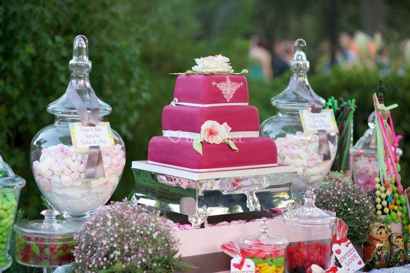 Sweet + tarta nupcial