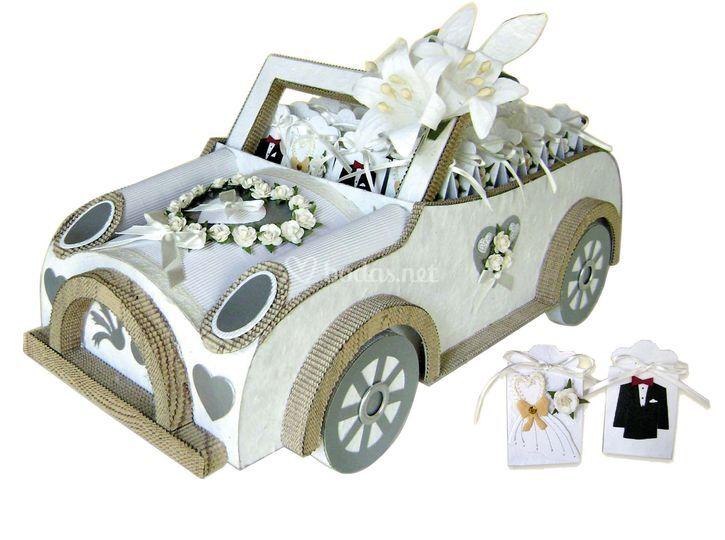 Expositor coche boda