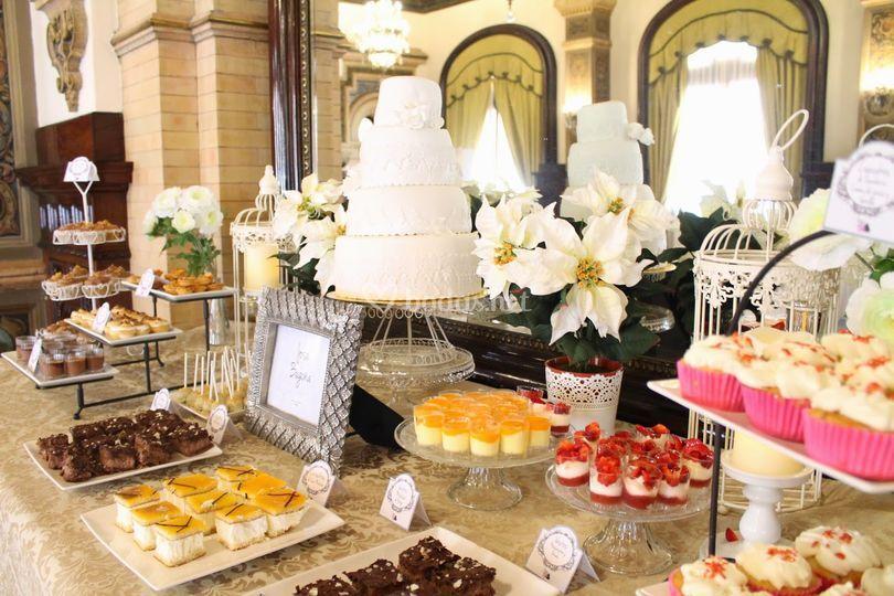 Mesa dulce hotel Alfonso XIII