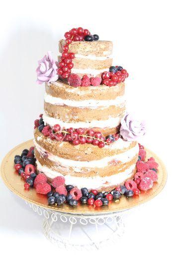 Tarta naked cake