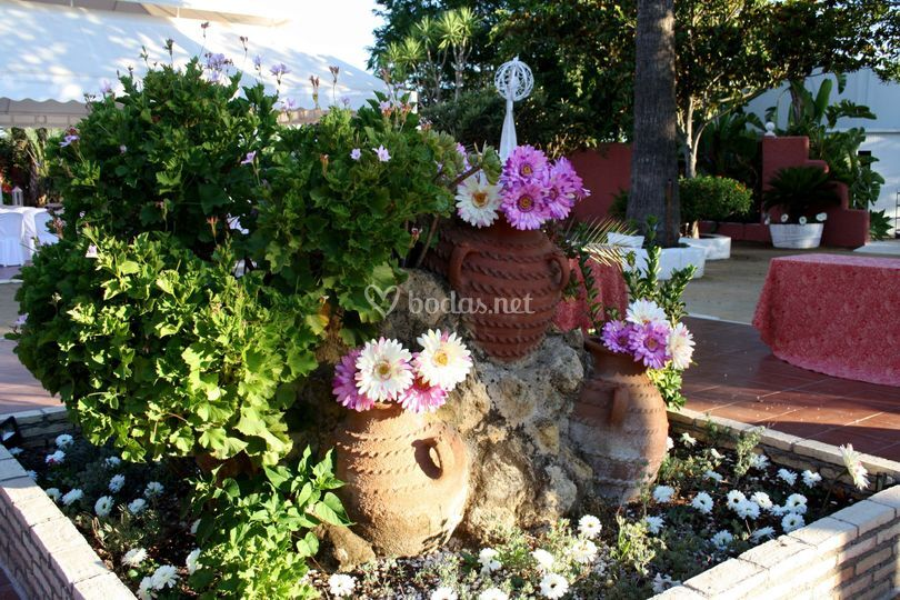 Jardín La Jara de día