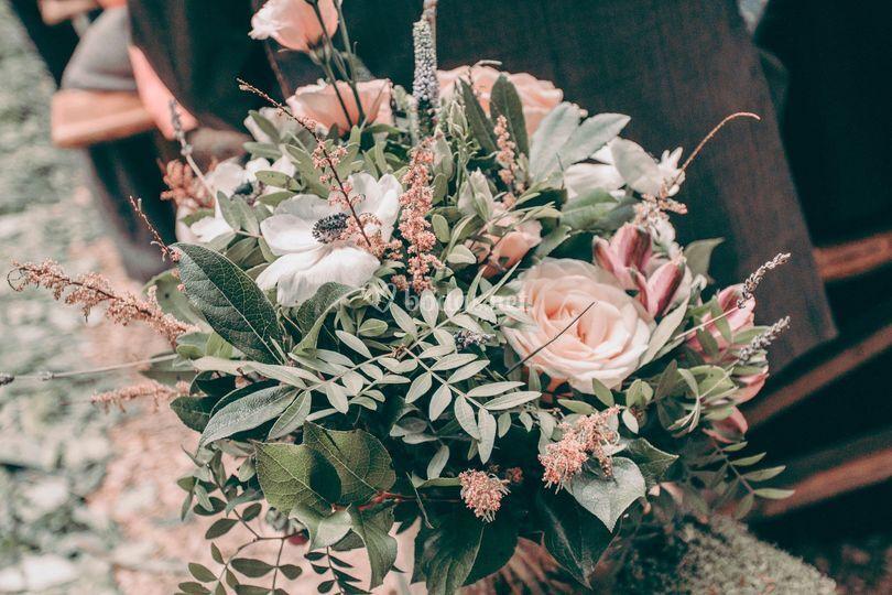 Flores para la entrada