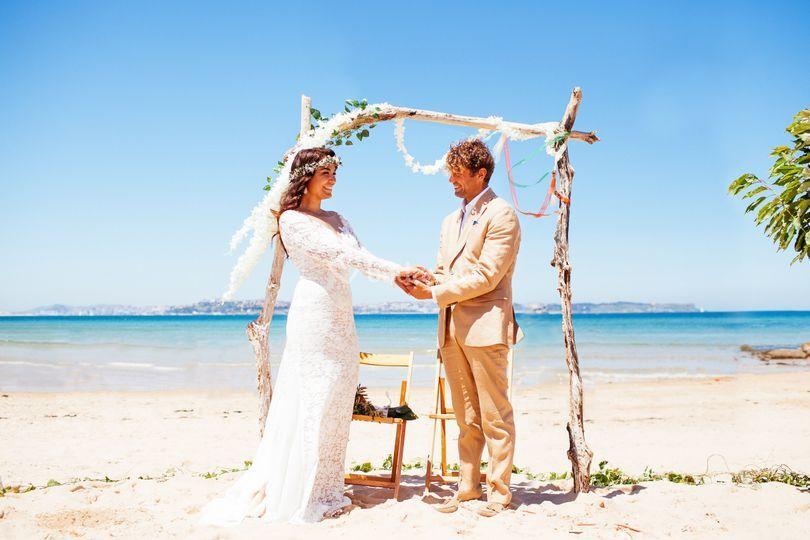 Ceremonias civiles en la playa
