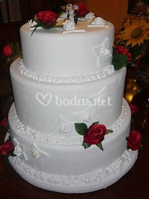 Tartas ficticias para bodas