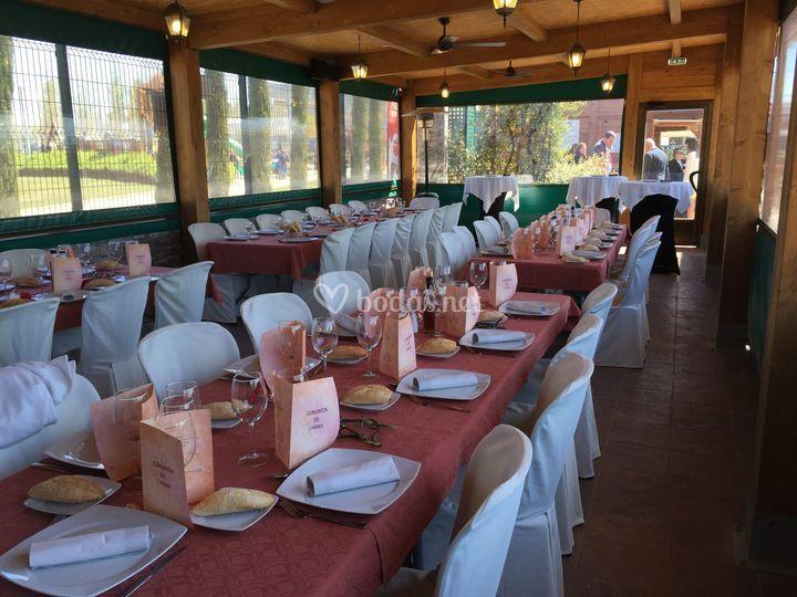 Salón para eventos íntimos
