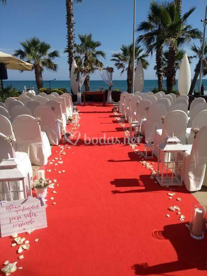 Ceremonia evento real