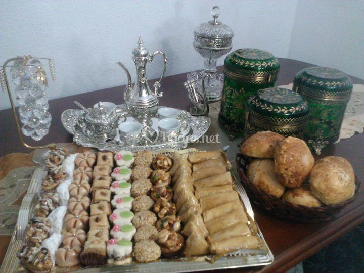 Surtido de dulces árabes