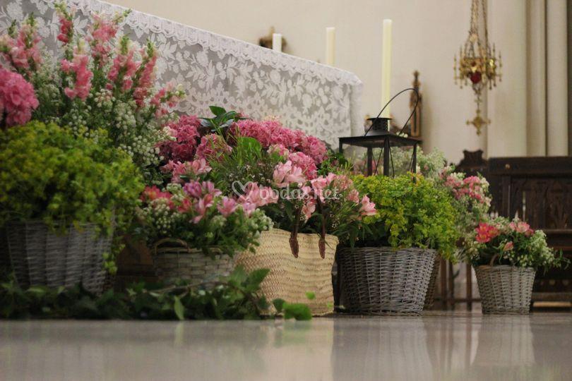 Adorno altar para boda