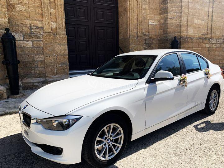 El BMW de la novia