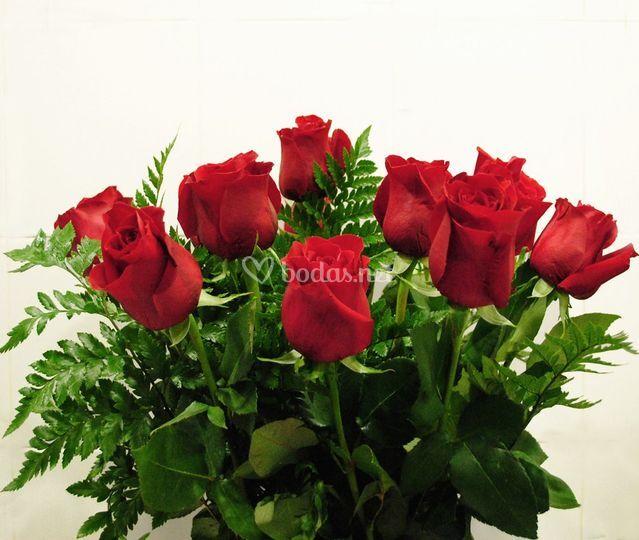 Ornamentación de rosas