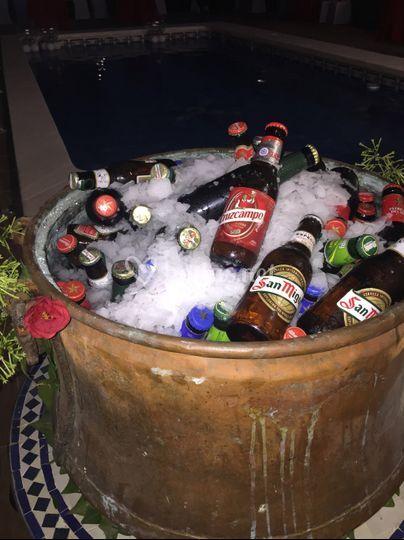 Rincón de cervezas