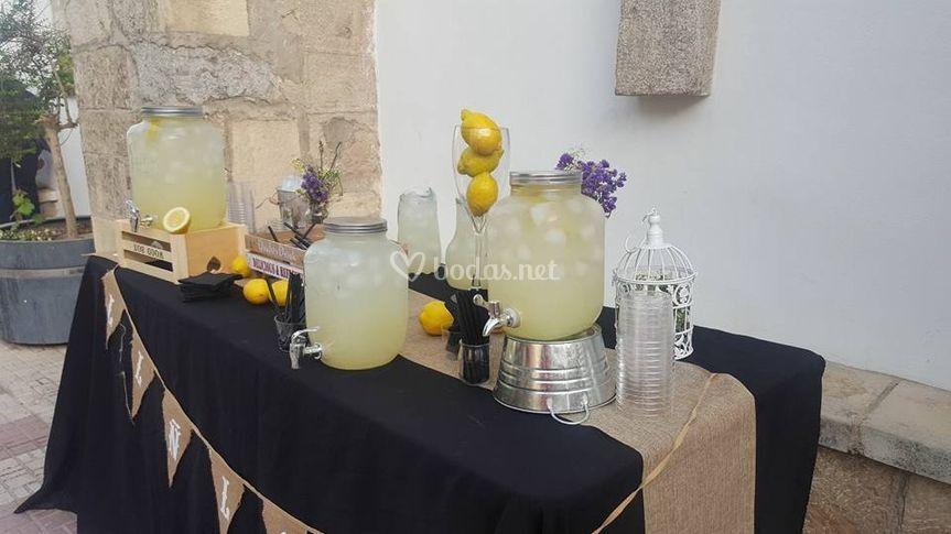 Limonada para boda
