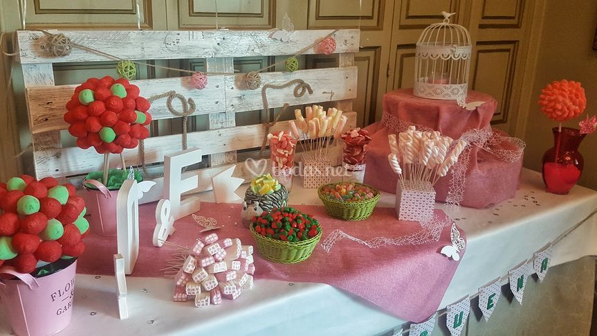 Candy Bar Decorativa